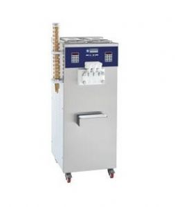 Machine à glace Soft 2 parfums + panaché 30 Kg/H