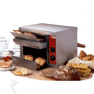 Toaster automatique 2 rampes 540 Toasts/heure
